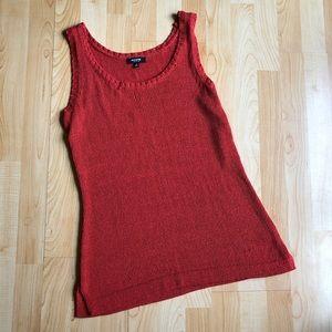 Premise Red Knit Tank